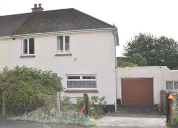Thumbnail 3 bed semi-detached house for sale in Brewer Road, Barnstaple