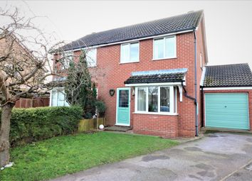 Thumbnail 3 bed semi-detached house for sale in Wright Drive, Scarning