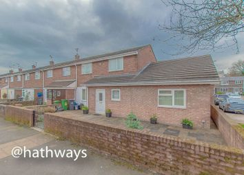 Thumbnail 3 bedroom terraced house to rent in Llewellyn Road, Cwmbran