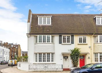 Thumbnail 4 bed end terrace house for sale in Burnsall Street, London