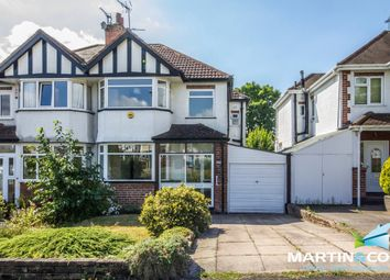 Thumbnail 3 bed semi-detached house for sale in Quinton Road, Harborne