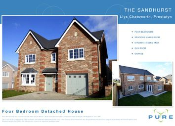 Thumbnail 4 bedroom detached house for sale in The Avenue, Prestatyn