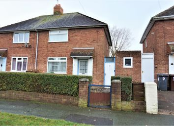 Thumbnail 2 bed semi-detached house for sale in Birch Road, Wolverhampton