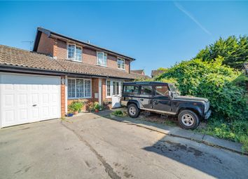 4 bed link-detached house for sale in Glorney Mead, Badshot Lea, Farnham GU9