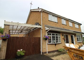 Thumbnail 3 bed semi-detached house for sale in Compton Avenue, Aston-On-Trent, Derby