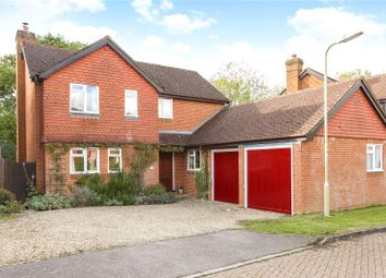 Thumbnail 4 bed detached house for sale in Du Maurier Close, Church Crookham, Fleet, Hampshire