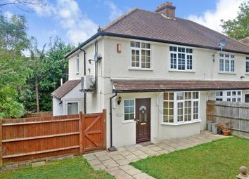 Thumbnail 3 bed end terrace house for sale in Court Bushes Road, Whyteleafe, Surrey
