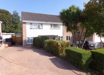 Thumbnail 2 bed semi-detached house for sale in Rowlstone Close, Exmouth