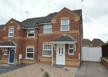 Thumbnail 3 bed semi-detached house for sale in Gregorys Close, Thorpe Astley, Leicester