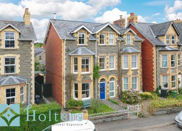Thumbnail 6 bed semi-detached house for sale in Garth Road, Builth Wells
