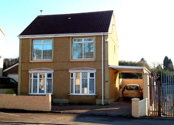 Thumbnail 3 bed detached house for sale in Peniel Green Road, Peniel Green, Swansea