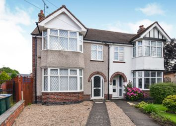 Thumbnail 3 bed semi-detached house for sale in Grenville Avenue, Coventry