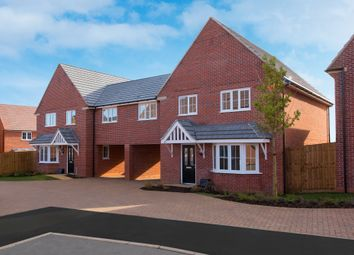 """Thumbnail 4 bedroom semi-detached house for sale in """"Chesham Special"""" at Blackthorn Crescent, Brixworth, Northampton"""