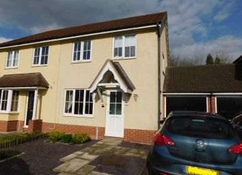 Thumbnail 3 bed semi-detached house for sale in Finch Close, Stowmarket