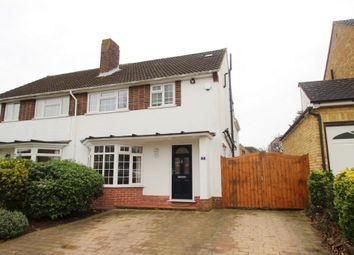 Thumbnail 4 bed semi-detached house for sale in Woodley Road, Orpington