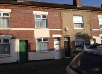 Thumbnail 2 bed terraced house to rent in Grasmere Street, Leicester