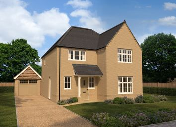 Thumbnail 4 bed detached house for sale in Alconbury Weald, Ermine Street, Alconbury, Huntingdon