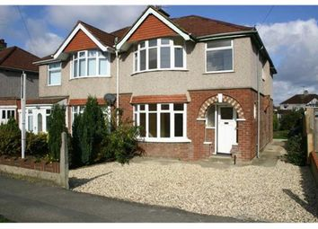 Thumbnail 4 bed semi-detached house for sale in Upham Road, Old Walcot, Swindon