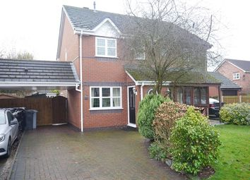 Thumbnail 2 bed mews house to rent in Mary's Gate, Wistaston, Cheshire