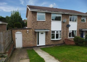 Thumbnail 3 bed semi-detached house to rent in Darsway, Castle Donington, Derby