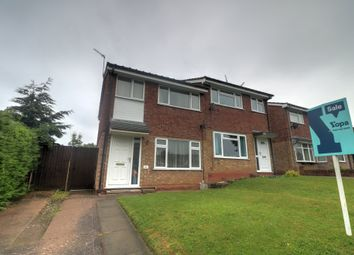Thumbnail 3 bed semi-detached house for sale in Barnfield Way, Stafford