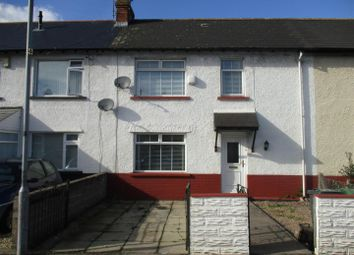 Thumbnail 2 bed terraced house to rent in Sudcroft Street, Leckwith, Cardiff