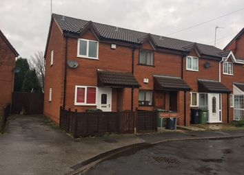 Thumbnail 2 bedroom end terrace house to rent in Regent Street, Willenhall