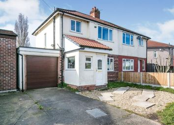Thumbnail 3 bed semi-detached house for sale in Valley Drive, Great Sutton, Ellesmere Port, Cheshire