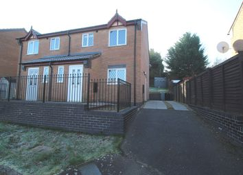 Thumbnail 3 bed semi-detached house to rent in Seacroft Close, Grantham