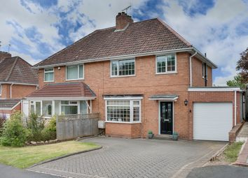 Thumbnail 3 bed semi-detached house for sale in Hazel Road, Rubery, Worcestershire