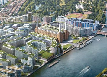 Thumbnail 2 bed flat for sale in Battersea Roof Gardens, London