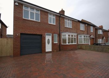 Thumbnail 5 bedroom semi-detached house for sale in Great Lime Road, Forest Hall, Newcastle Upon Tyne