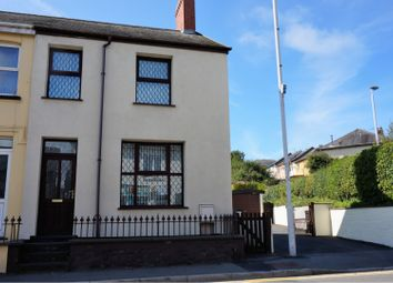 Thumbnail 2 bed semi-detached house for sale in Penparcau, Aberystwyth