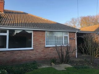 Thumbnail 2 bed semi-detached bungalow to rent in Chapel Lane, Manby, Louth