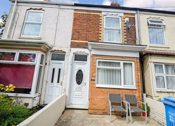 Thumbnail 2 bed terraced house for sale in Carlton Avenue, Off Delhi Street, Hull