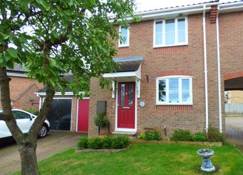 Thumbnail 3 bedroom semi-detached house to rent in Turner Close, Haverhill