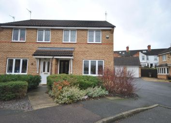 Thumbnail 3 bed semi-detached house to rent in Skylark Avenue, Mountsorrel, Loughborough