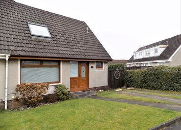 Thumbnail 2 bed semi-detached house for sale in Kinlock Drive, Motherwell