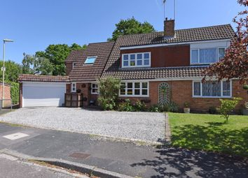 Thumbnail 4 bed semi-detached house for sale in Home Park Road, Yateley