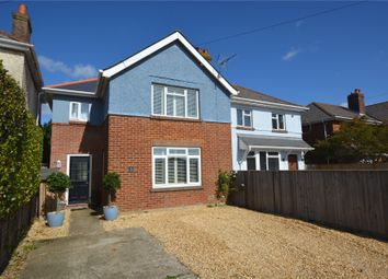 Thumbnail 3 bedroom semi-detached house for sale in Bridge Road, Lymington