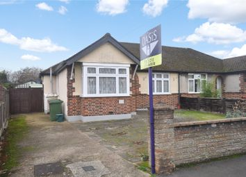 Thumbnail 2 bed semi-detached bungalow for sale in Avondale Avenue, Staines-Upon-Thames, Surrey