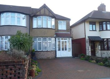 Thumbnail 3 bed end terrace house for sale in Barmouth Avenue, Perivale, Greenford, Middlesex