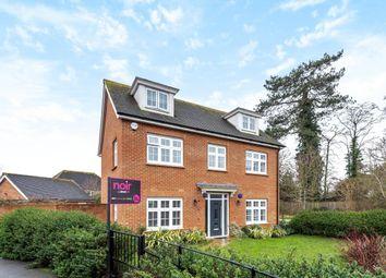 Thumbnail 5 bed detached house for sale in Goldcrest Road, Bracknell