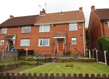 Thumbnail 3 bed semi-detached house to rent in Blake Crescent, Mansfield