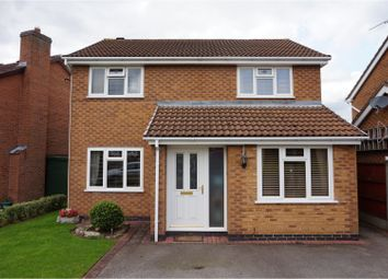 Thumbnail 4 bed detached house for sale in Drake Way, Hinckley