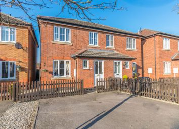 Thumbnail 3 bedroom semi-detached house for sale in Century Court, Leicester