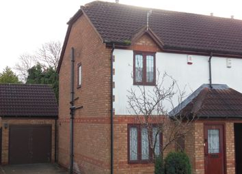 Thumbnail 2 bed semi-detached house to rent in Seagrave Close, Oakwood