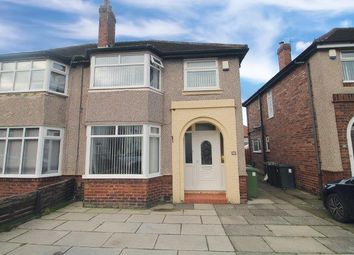 Thumbnail 3 bed semi-detached house for sale in Ecclesall Avenue, Litherland, Liverpool
