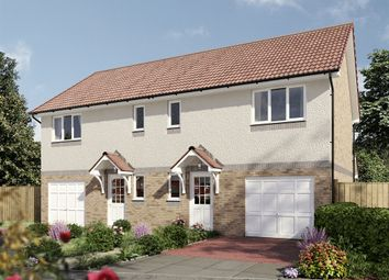 "Thumbnail 3 bed semi-detached house for sale in ""The Newton"" at South Gyle Wynd, Edinburgh"