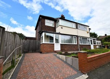 Thumbnail 3 bed semi-detached house for sale in Castledene Avenue, Salford